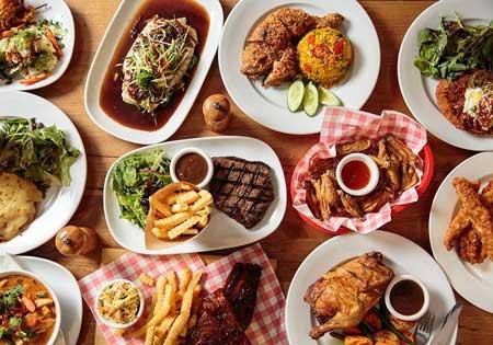 انواع غذا و مواد خوراکی در زبان اسپانیایی